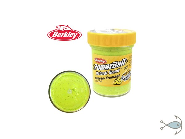 Паста форелевая Berkley Power Bait Cheese Chartreuse