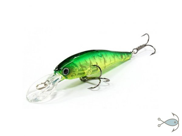 Воблер LUCKY CRAFT POINTER 100DD-SP Lime Chart Tiger