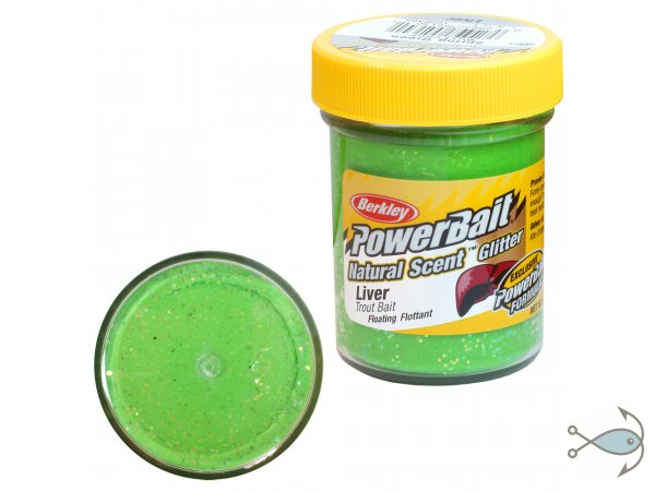 Паста форелевая Berkley Power Bait Liver Spring Green