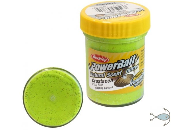 Паста форелевая Berkley Power Bait Crustacea Chartreuse