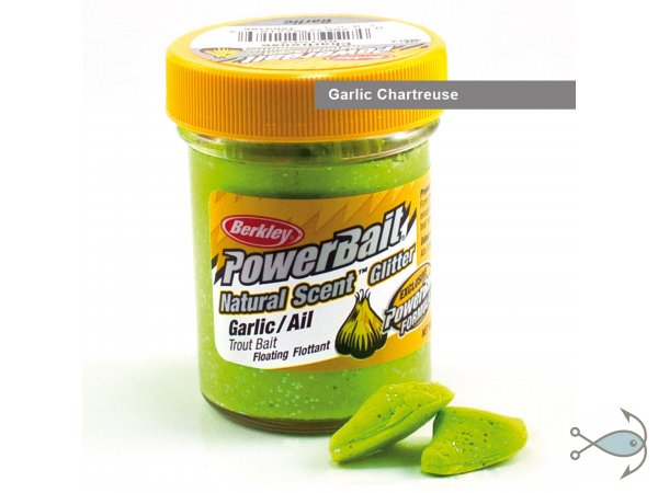 Паста форелевая Berkley Power Bait Chartreuse Garlic