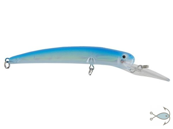 Воблер Bay Rat Lures Long Deep 130 мм Blue Pearl