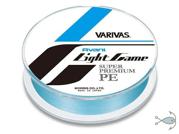 Плетёный шнур VARIVAS Light Game Super Premium PE 100m