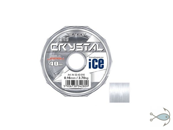 Леска Dragon Crystal Nano Ice 40 м
