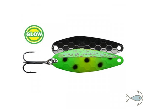 Блесна Bay Rat Lures SP-2.5 Glow Green Frog